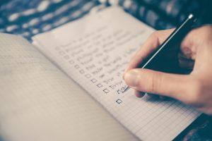 Jahresrückblick Liste